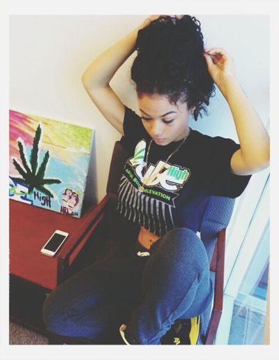 I haven't posted in a minute have y'all been missing me smh Muahh ♡ Baddie ❤ Indiallove Westbrooks