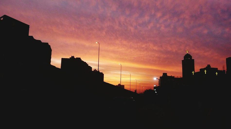 The sky at the time of the sunset Sky Egypt EyeEm Best Shots EyeEm In Cairo Eyeemgood Eyeemhappy EyeEmbestshots