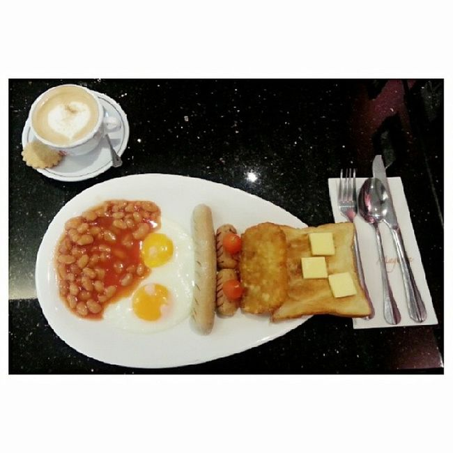 There's never too late to order set breakfast Nomtastic