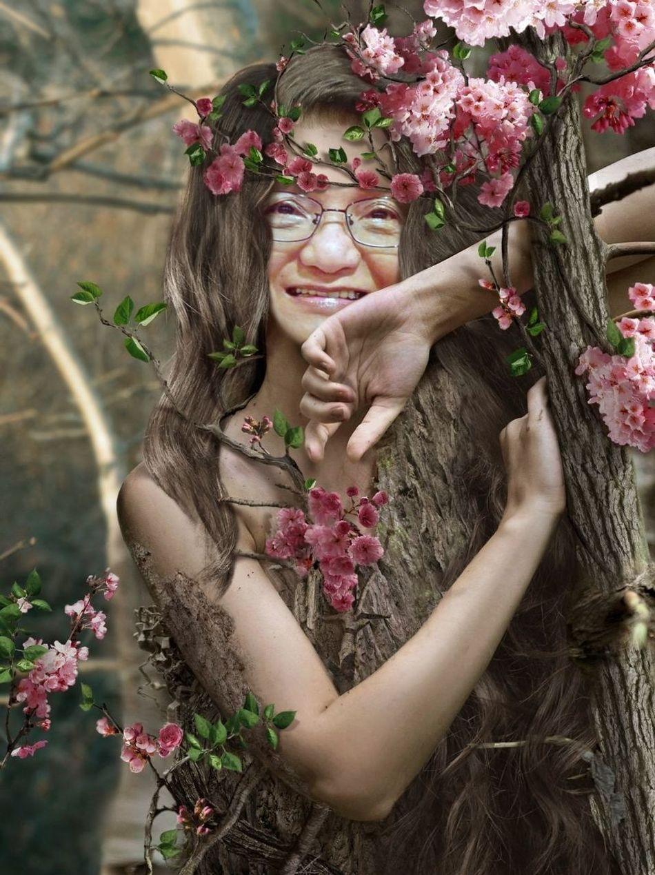 Myrtle Tree Fairy photo effect Pho.to.Lab App Having Fun