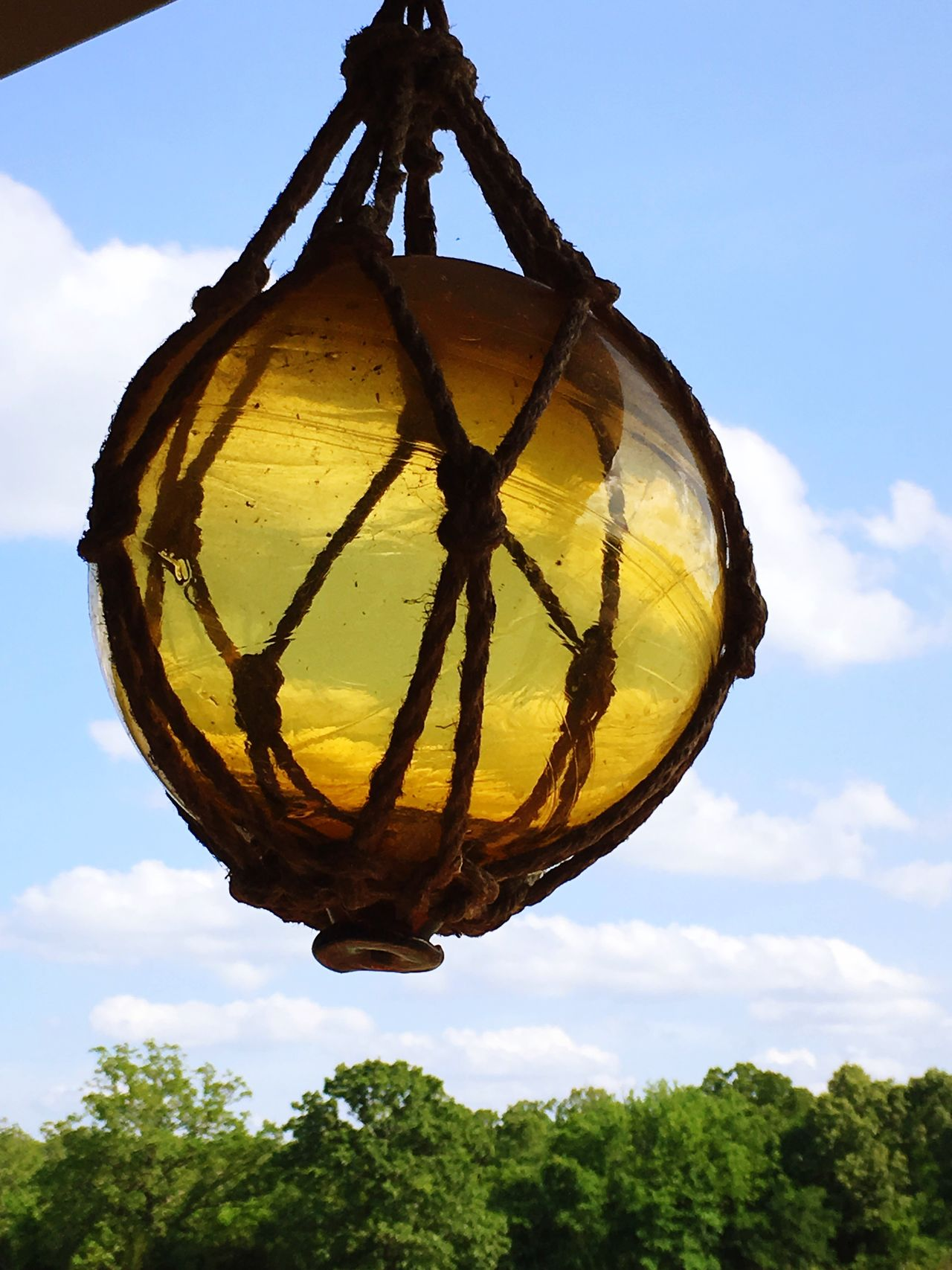 Hanging No People Glass - Material Netting Glass Ball Porch Sky Day Outdoors