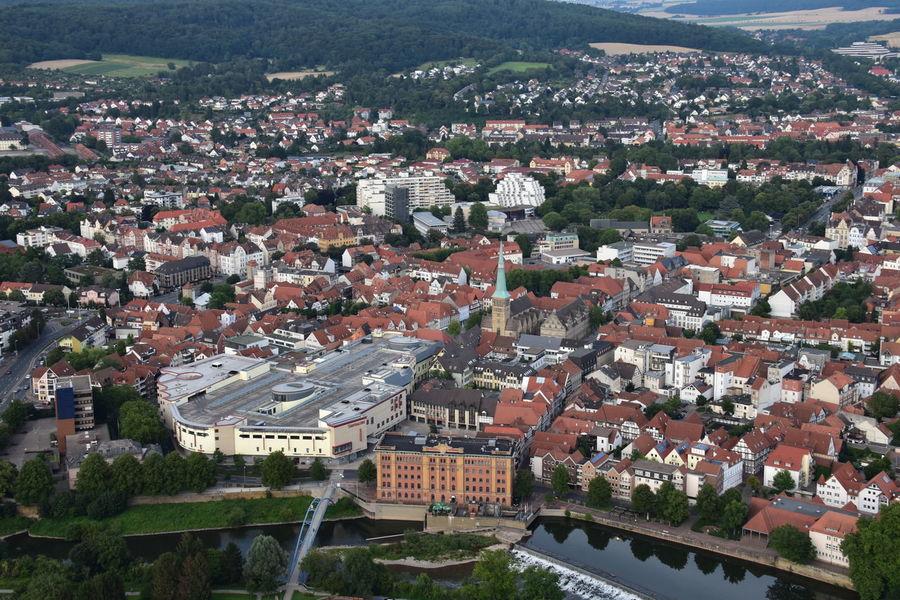 City Hameln Hameln Von Oben Hamlin Niedersachsen Lower Saxony Cityscape Cityscape Photography Marktkirche