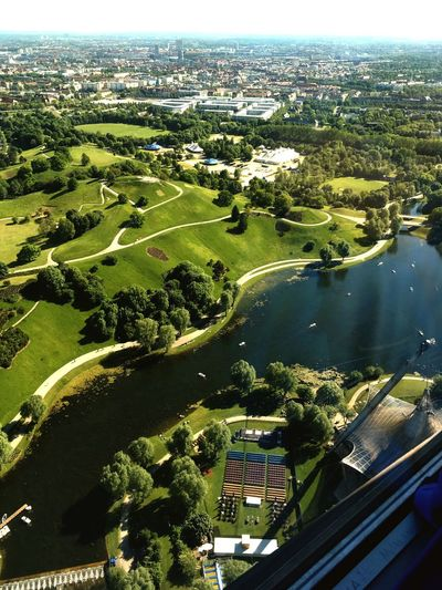 MÜNCHEN Munich German Germany Bavaria Wiesen Fernsehturm City City Life Lovemycity Lovemylife Aussicht Sightseeing