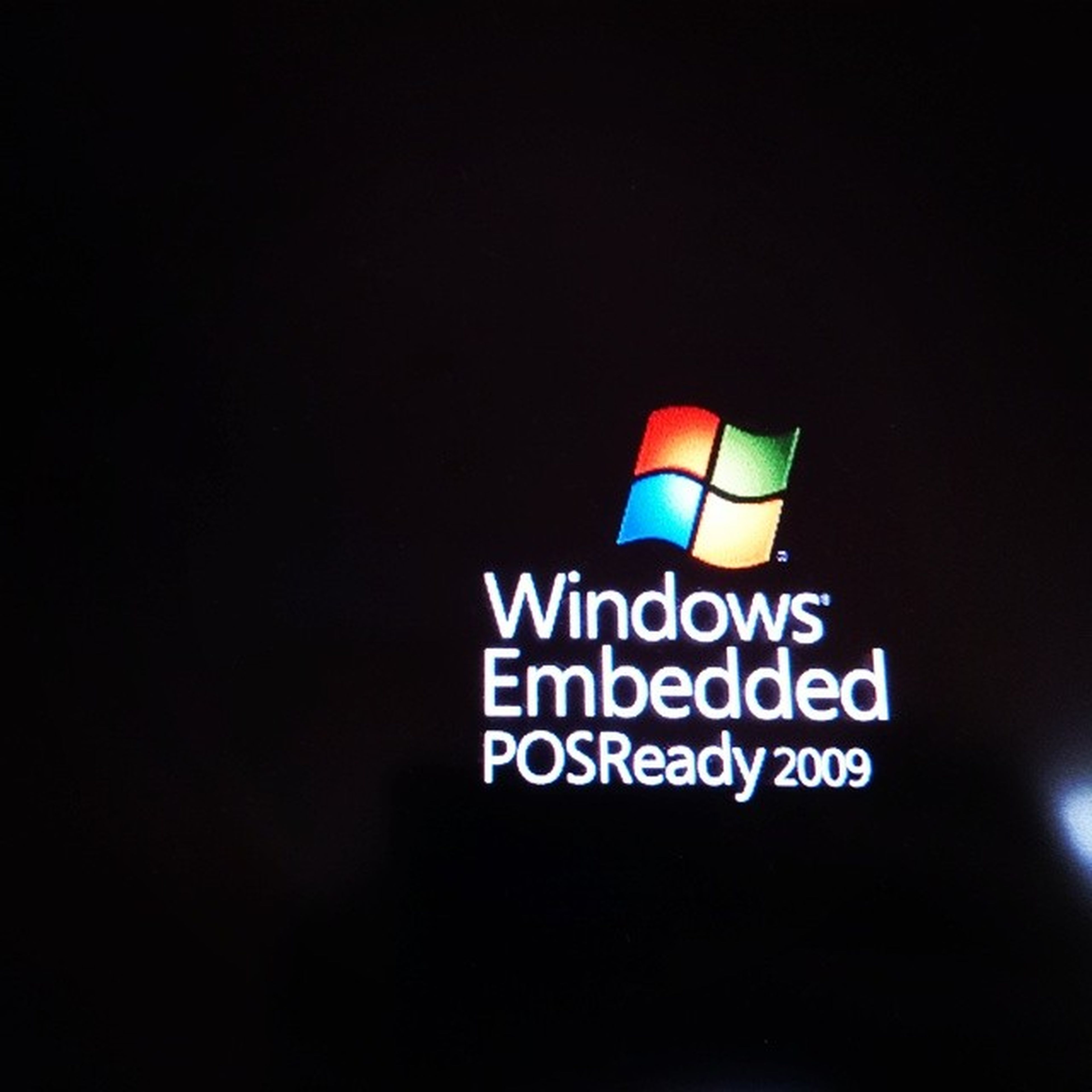 Piece of Shit from 2009 Windows Pointofsale Os Operatingsystem