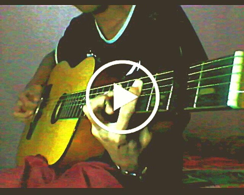 Relaxing Playing Guitar