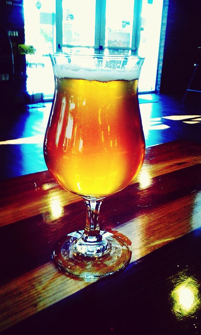 Todays beer for lunch was Port Brewing's Carnevale saison I ❤ Beer San Diego Craft Beer Beer Drinking Beer