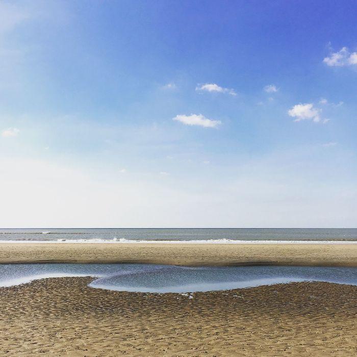 Beach Netherlands Thenetherlands Bloemendaal Bloemendaalaanzee Sea Northsea North Sea