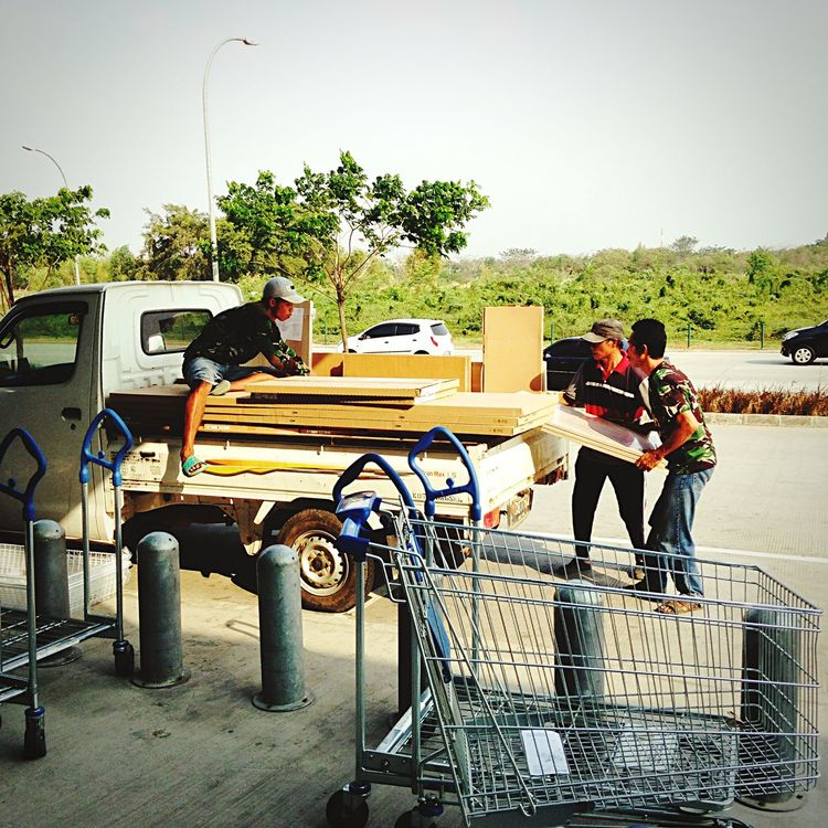 they work hard for a living Collected Community IKEA Alam Sutera EyeEm Indonesia Eyeemphotography IPhone5 From My Point Of View