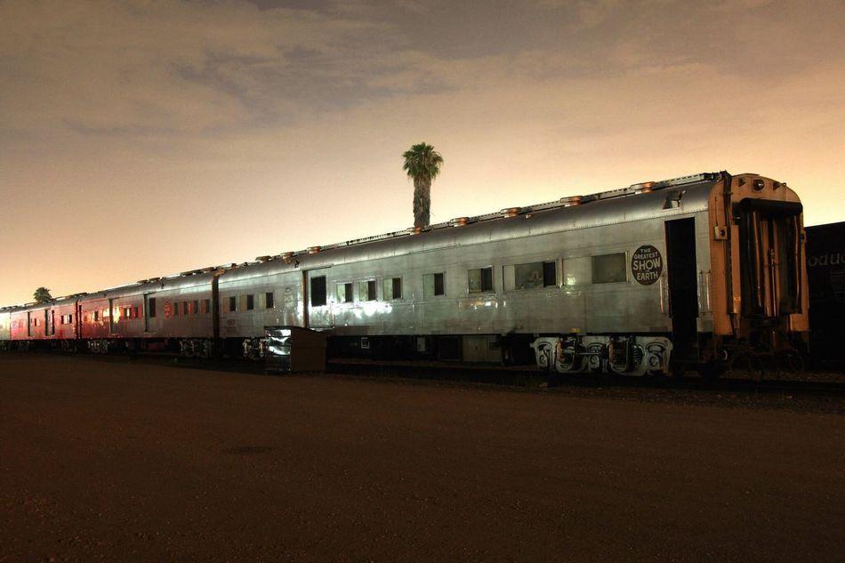 Circus Train Circus Long Exposure Ringling Bros Train Losangeles