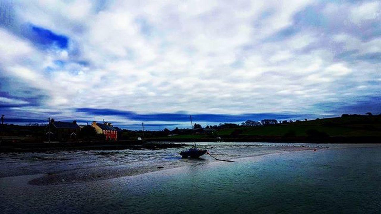 Clonakilty  Cork Ireland Harbour Boat Seaviews Seaside Oceanside Ocean Clouds