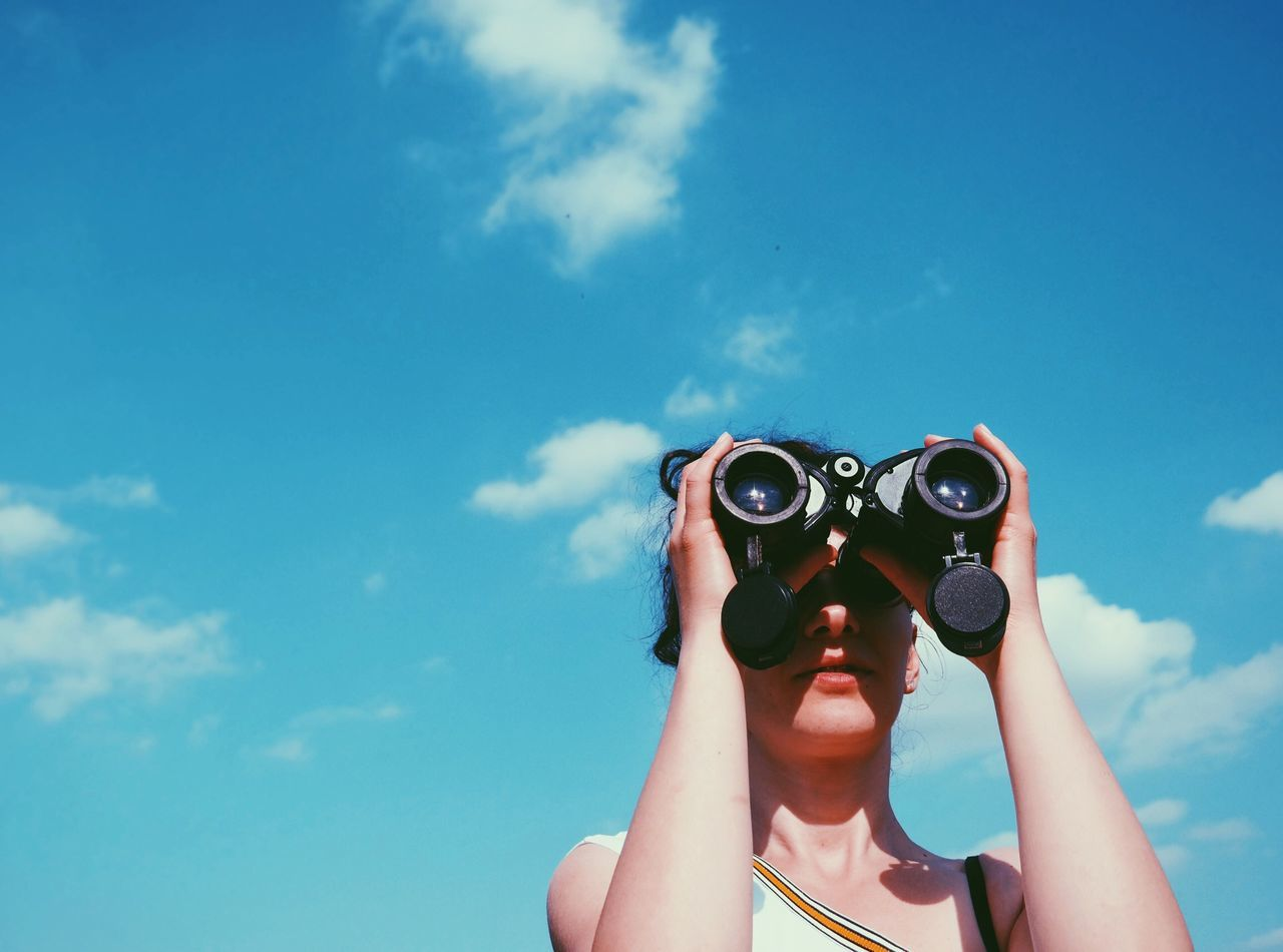 Beautiful stock photos of camping, 30-34 Years, Anticipation, Arad, Binoculars
