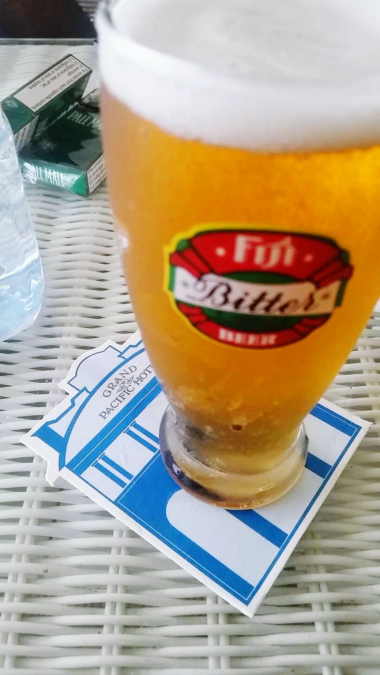 FijiBitter Beer GPH GrandPacificHotel Grandoldlady Relaxing