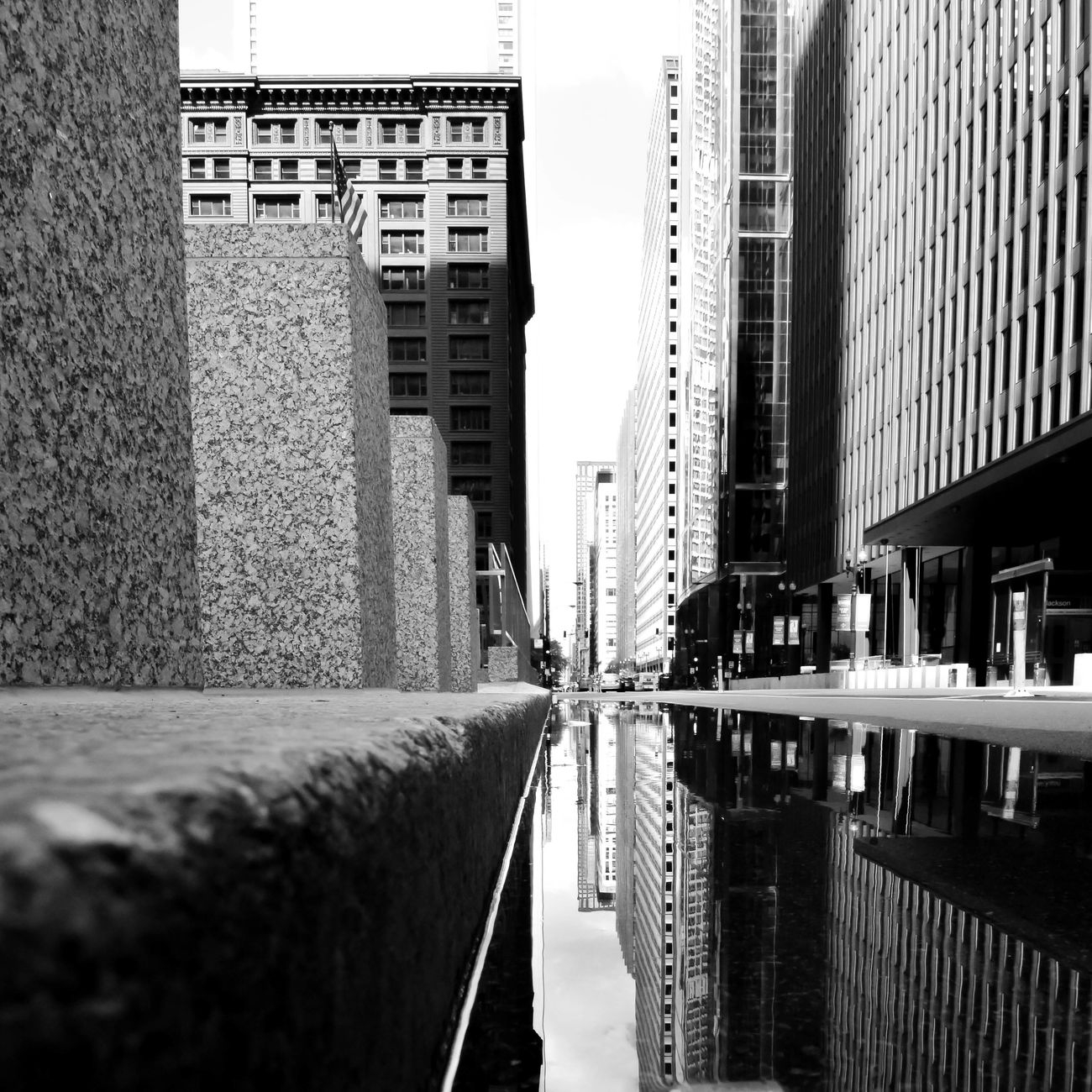 Urban Architecture Blackandwhite Blackandwhite Photography Bnw Building Exterior Built Structure City Day EyeEm EyeEm Best Shots Eyeemblack&white Nikon No People Outdoors Reflection Skyscraper Square Street Streetphotography Urban Urban Exploration Urbanphotography Vanishing Point Water