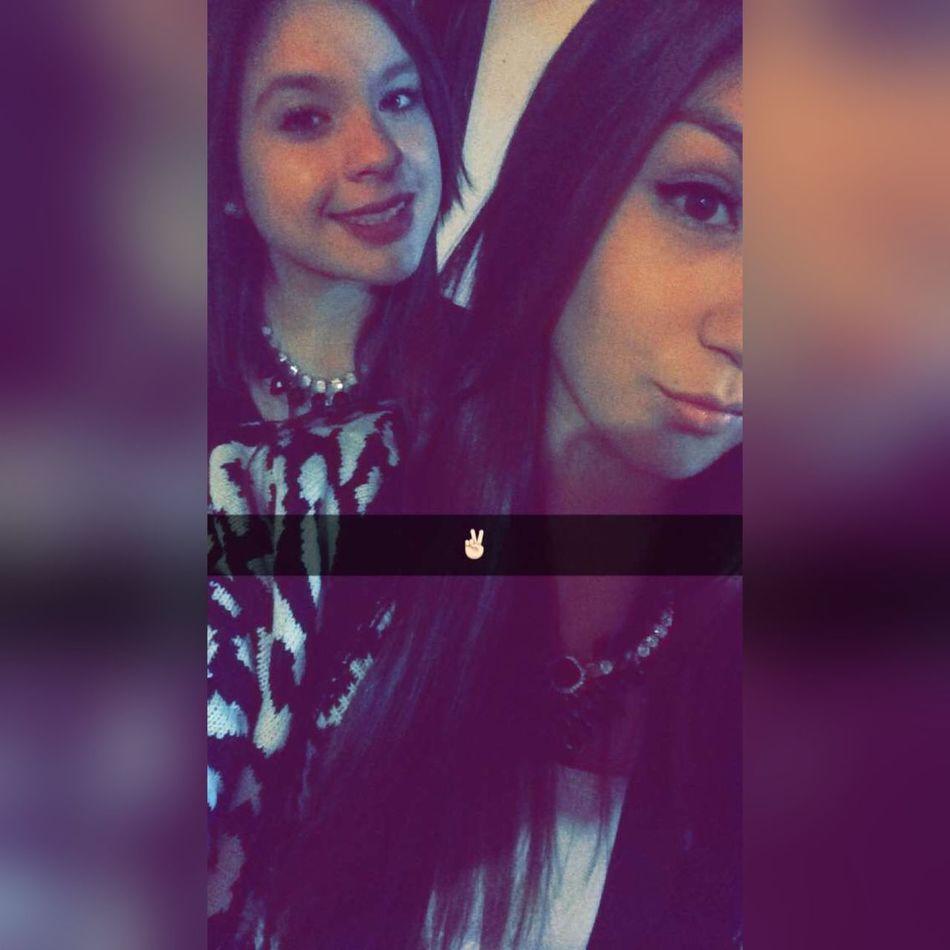 Prima Año Nuevo  2016 :) Snapchat