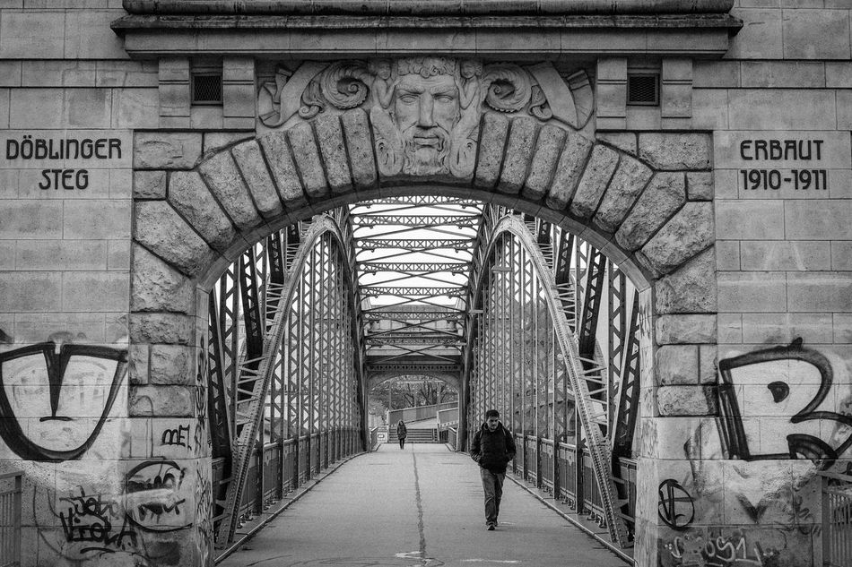 Architecture Bridge Built Structure Connection Metal Steel Stone Street Streetphotography