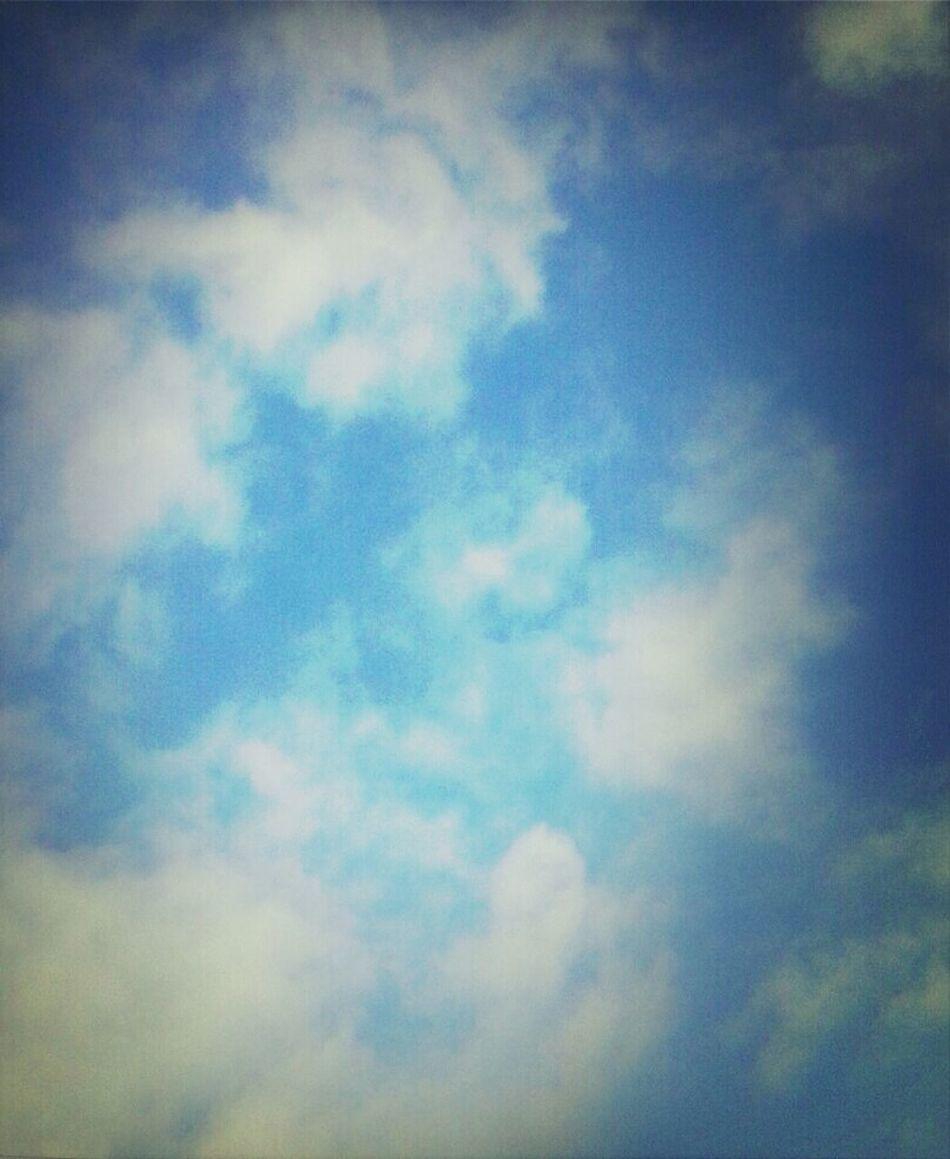 Arkansas summer sky...