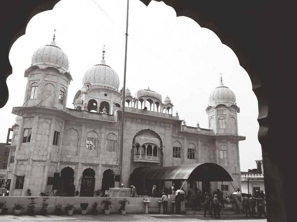 Gurudwara Architecture Blackandwhite Landscape