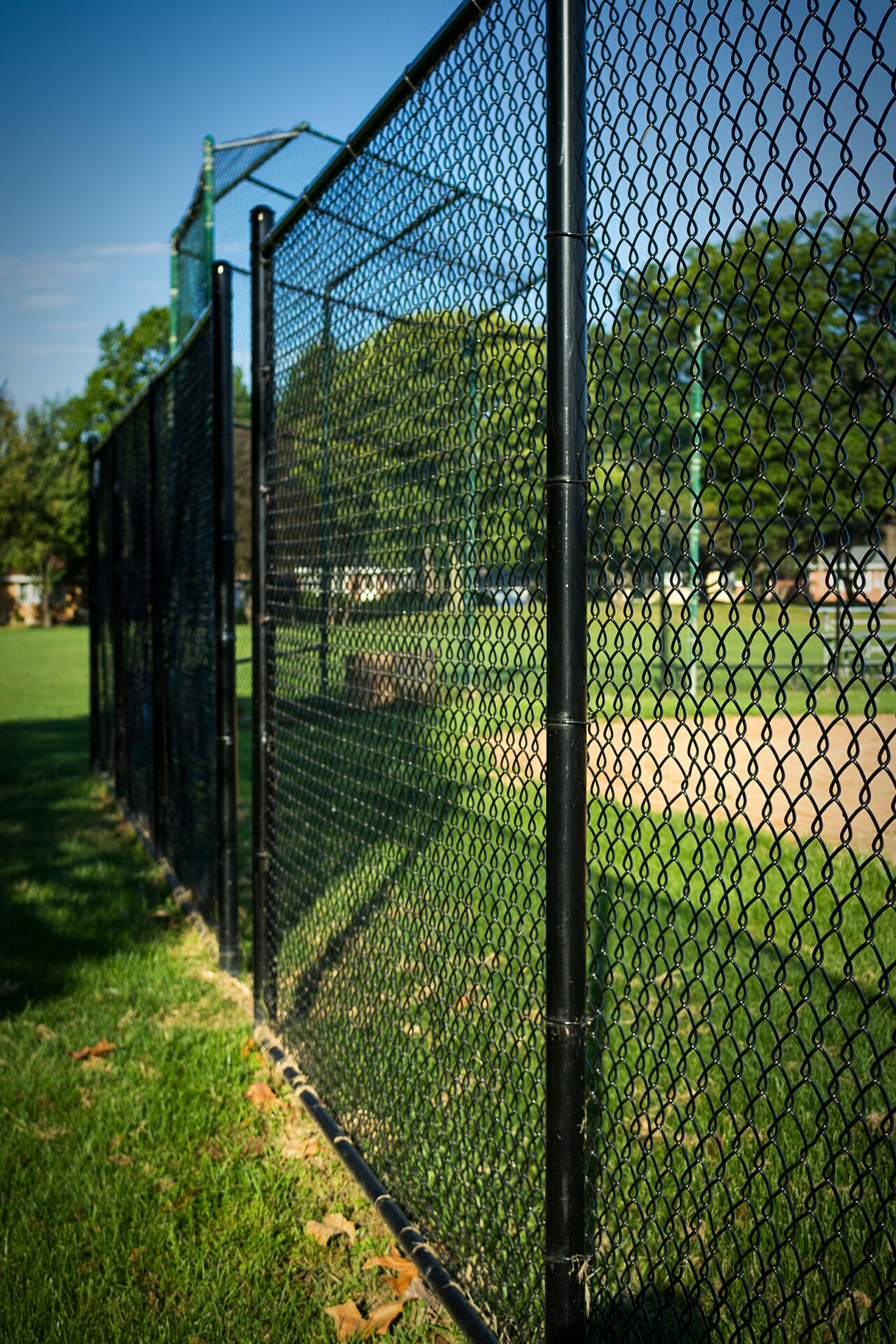 Addison Illinois Byron Park Baseball Diamond
