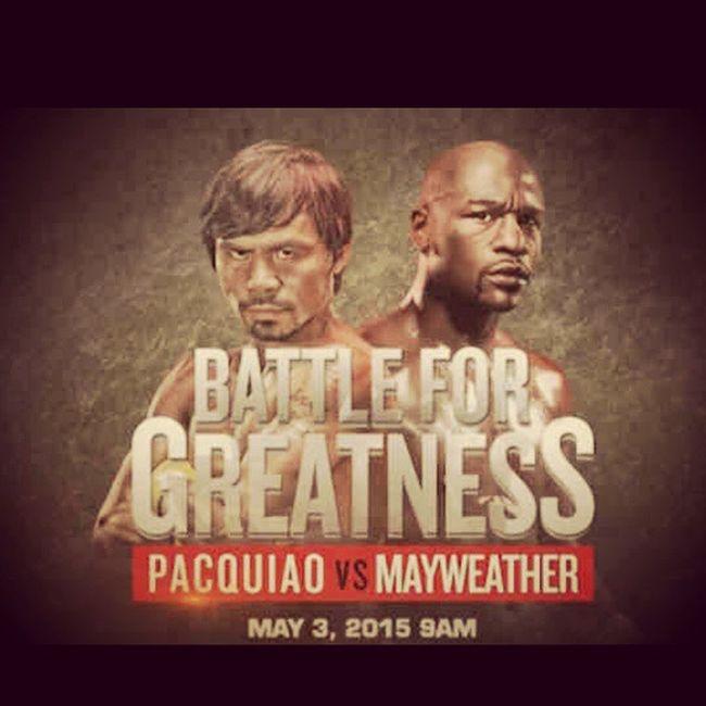 FIGHT OF THE CENTURY! Oneforpacman Gopilipinas Beatthemayweather