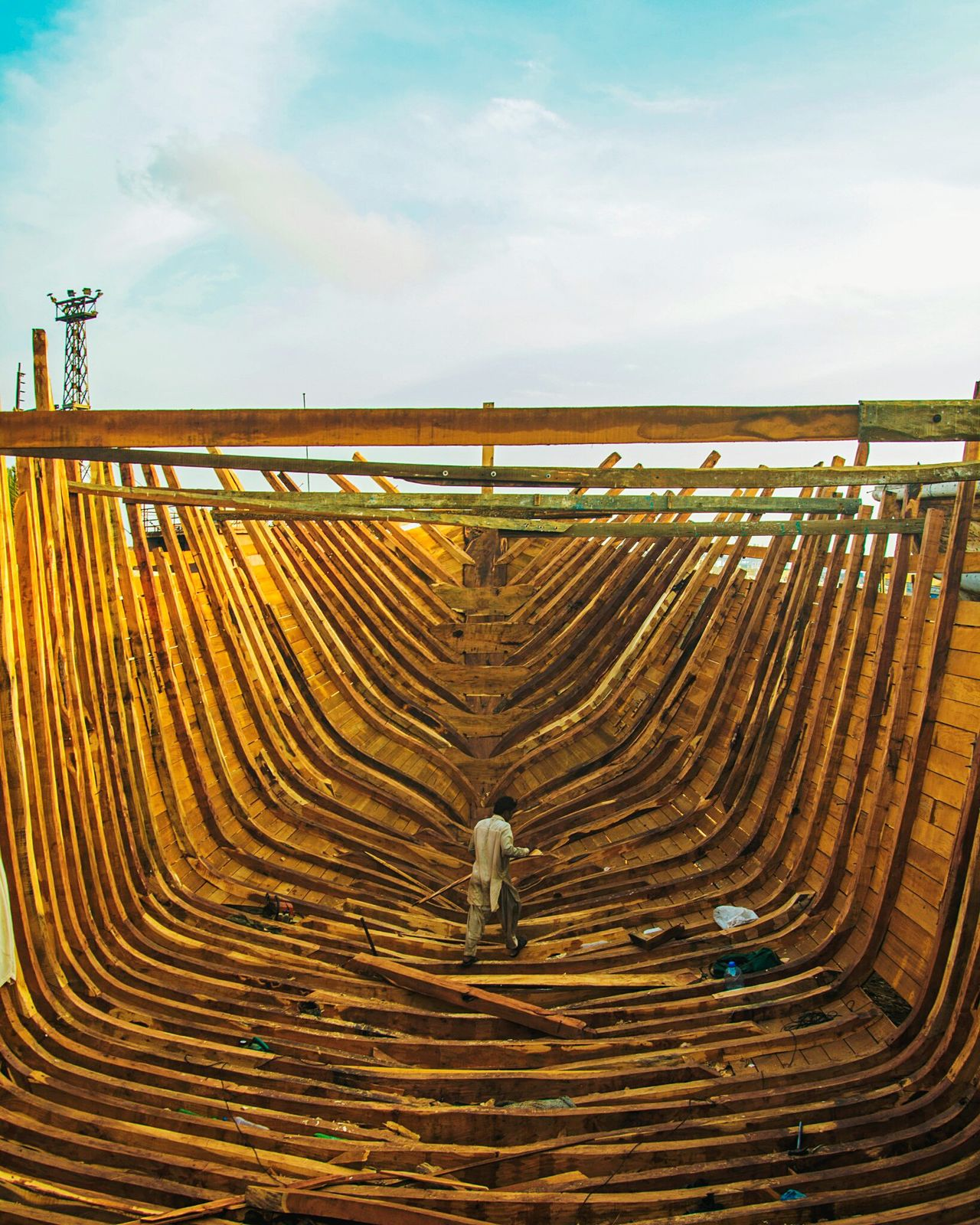 Sky Outdoors Agriculture Sand Landscape Beauty In Nature No People Day Nature Karachi Making Ship EyeEmNewHere