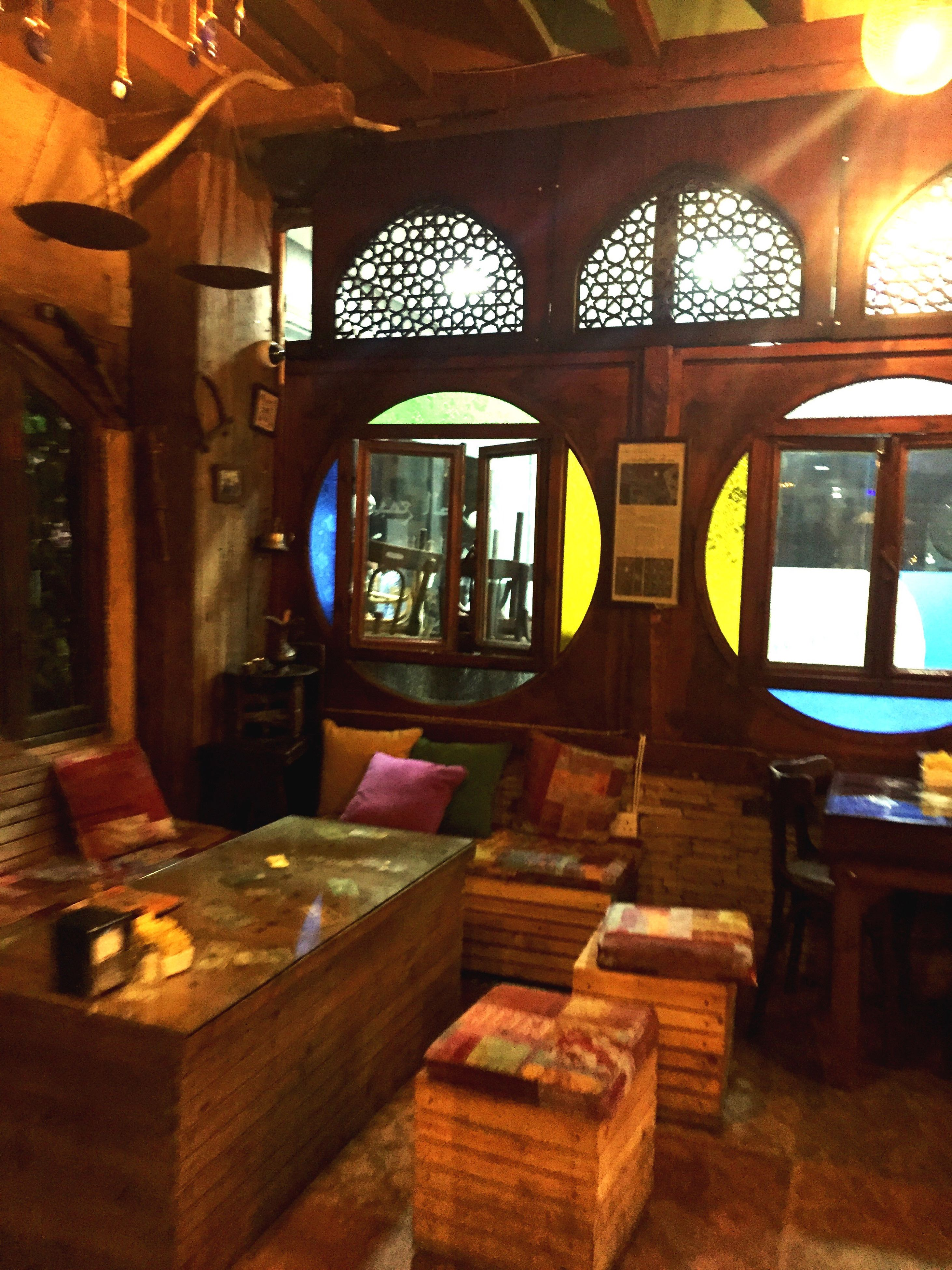 indoors, table, built structure, architecture, day, no people, tourist resort, interior