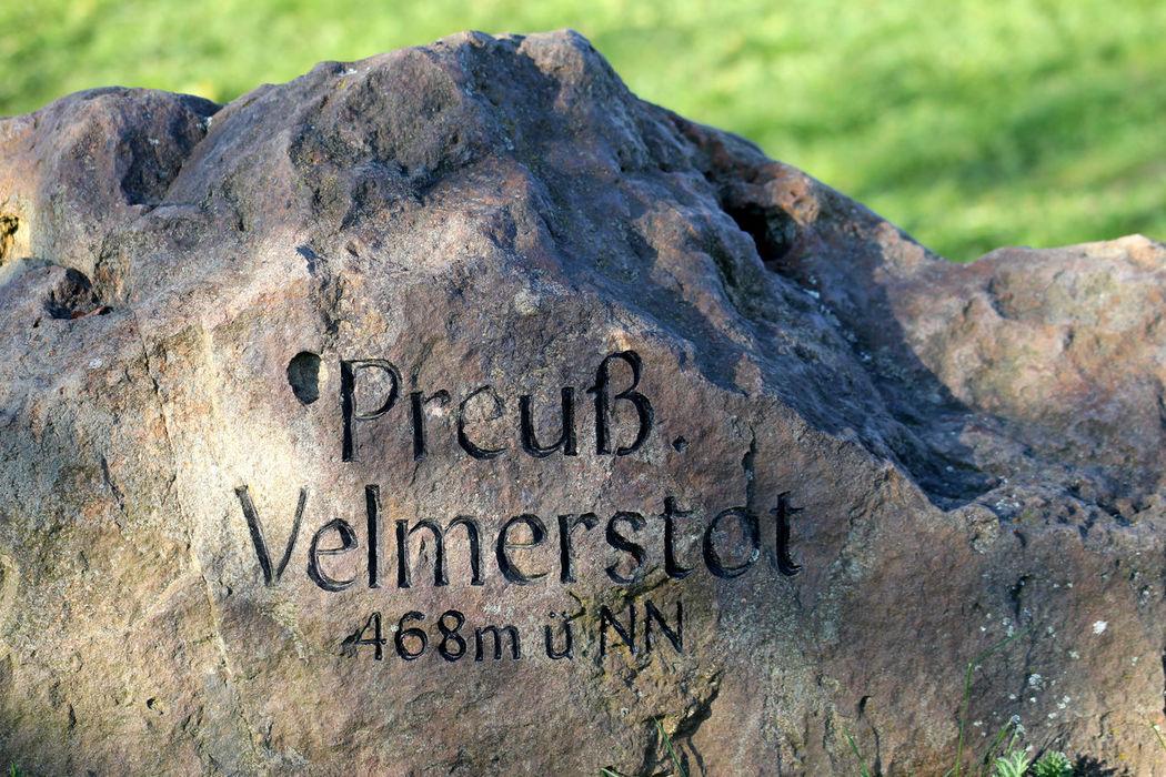 Aussichtsturm Close-up Communication Day Feldrom Horn-Bad Meinberg Nature No People Outdoors Preußisch Rock - Object Rock Formation Stone - Object Text Veldrom Velmerstot