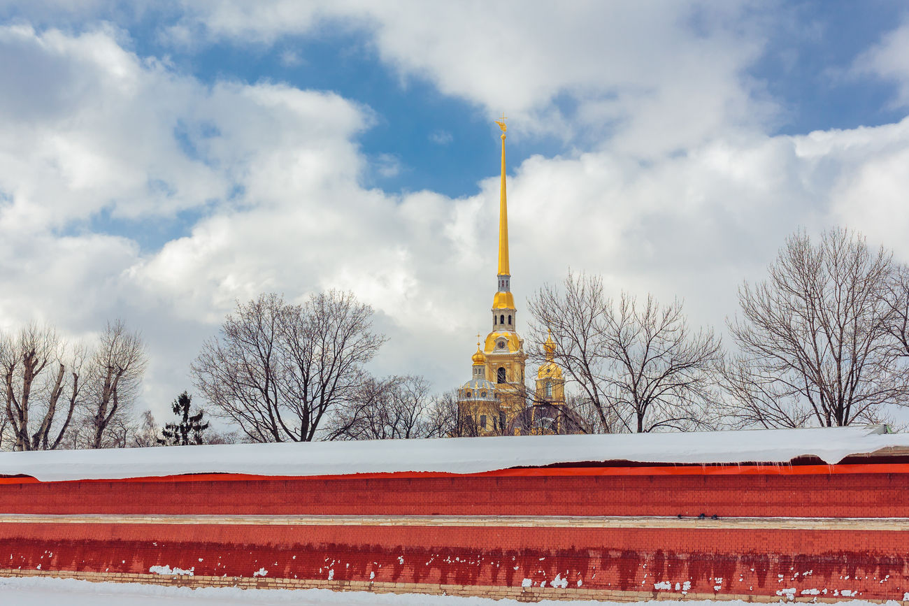 Beautiful stock photos of russia, Architecture, Bare Tree, Building Exterior, Built Structure