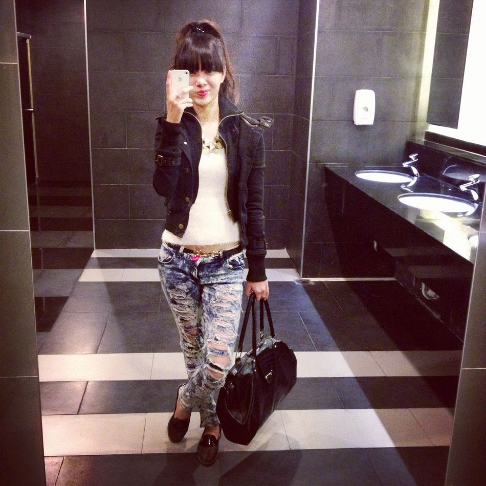 Black And White Street Fashion That's Me Today's Hot Look !!!! MY STYLE !!!!!! ?