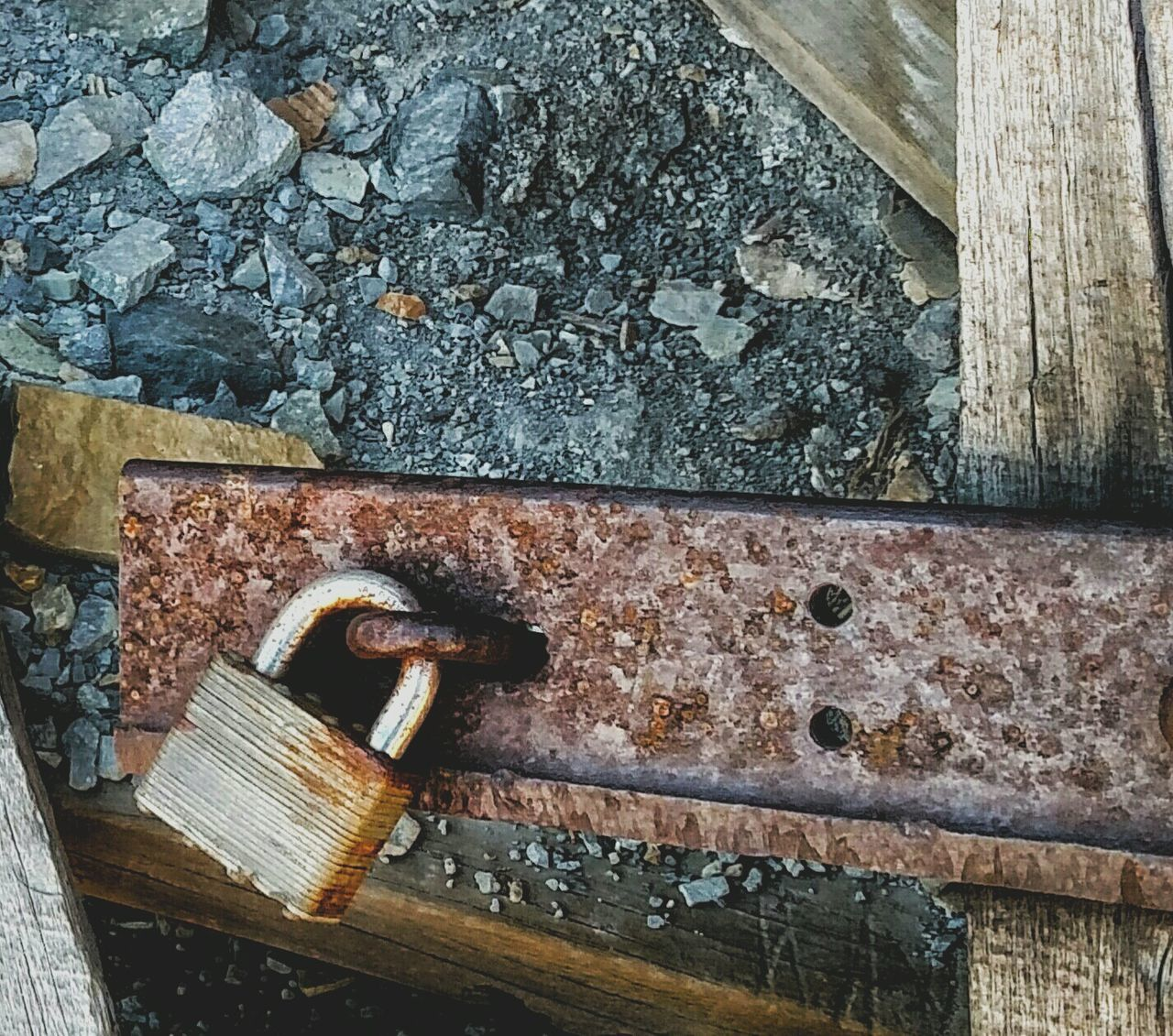 Rustygoodness Rusty Lock Rustic Beauty Old Lock Colorado_collection Country Life Cell Phone Photography Mining History Of America