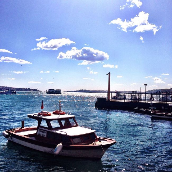 Good Night Istanbuldayasam Sea And Sky Clods And Sky Blue Sky Eyem Gallery Streamzoofamily Eye4photography  Sky Bosphorus