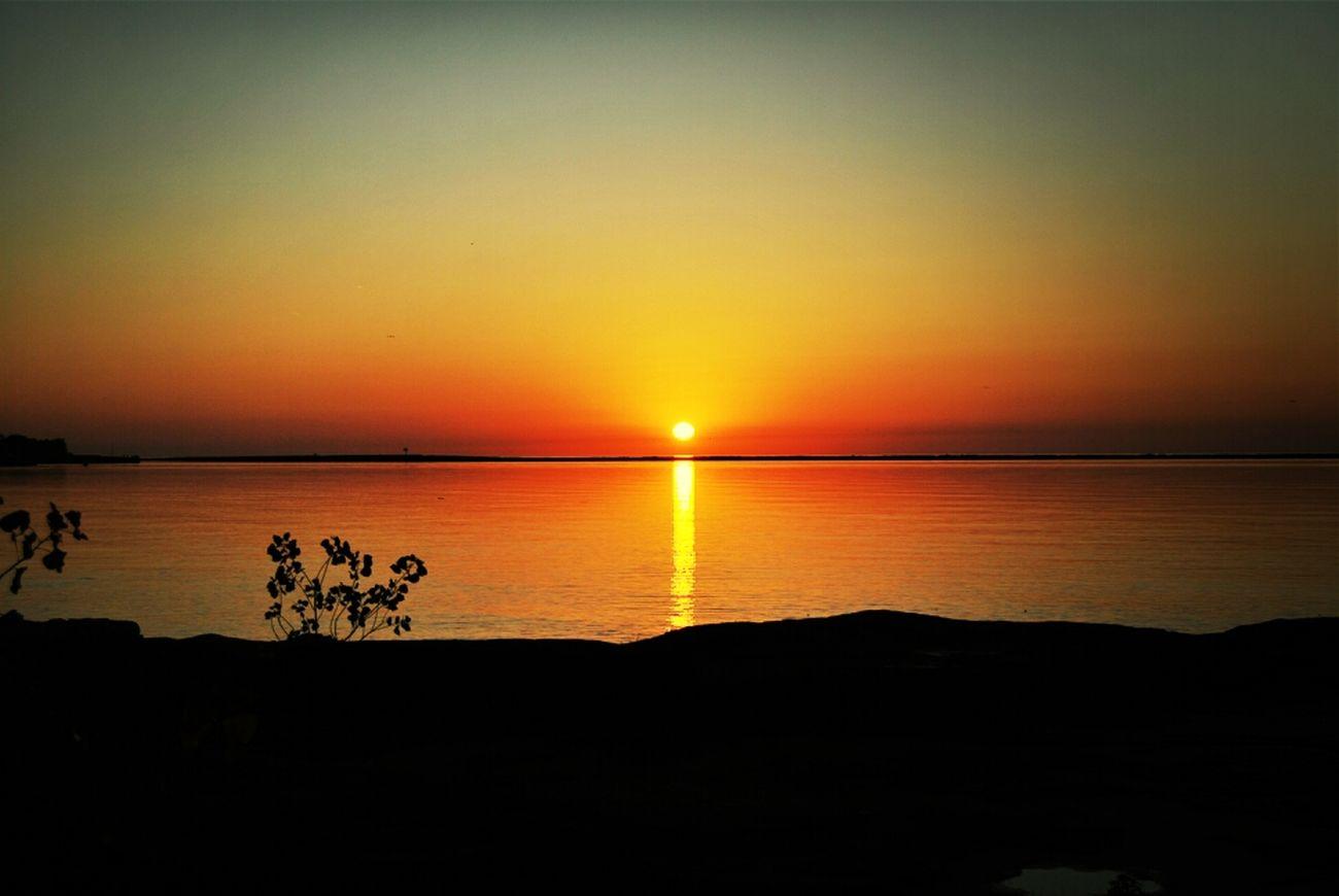 Sunset Oswego