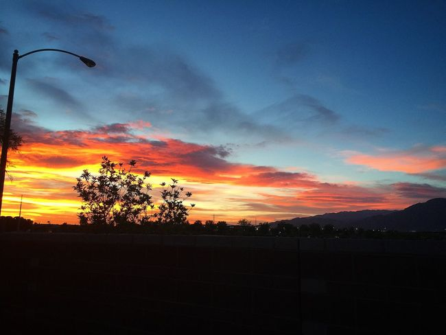 Sky And Clouds Sunset Las Vegas