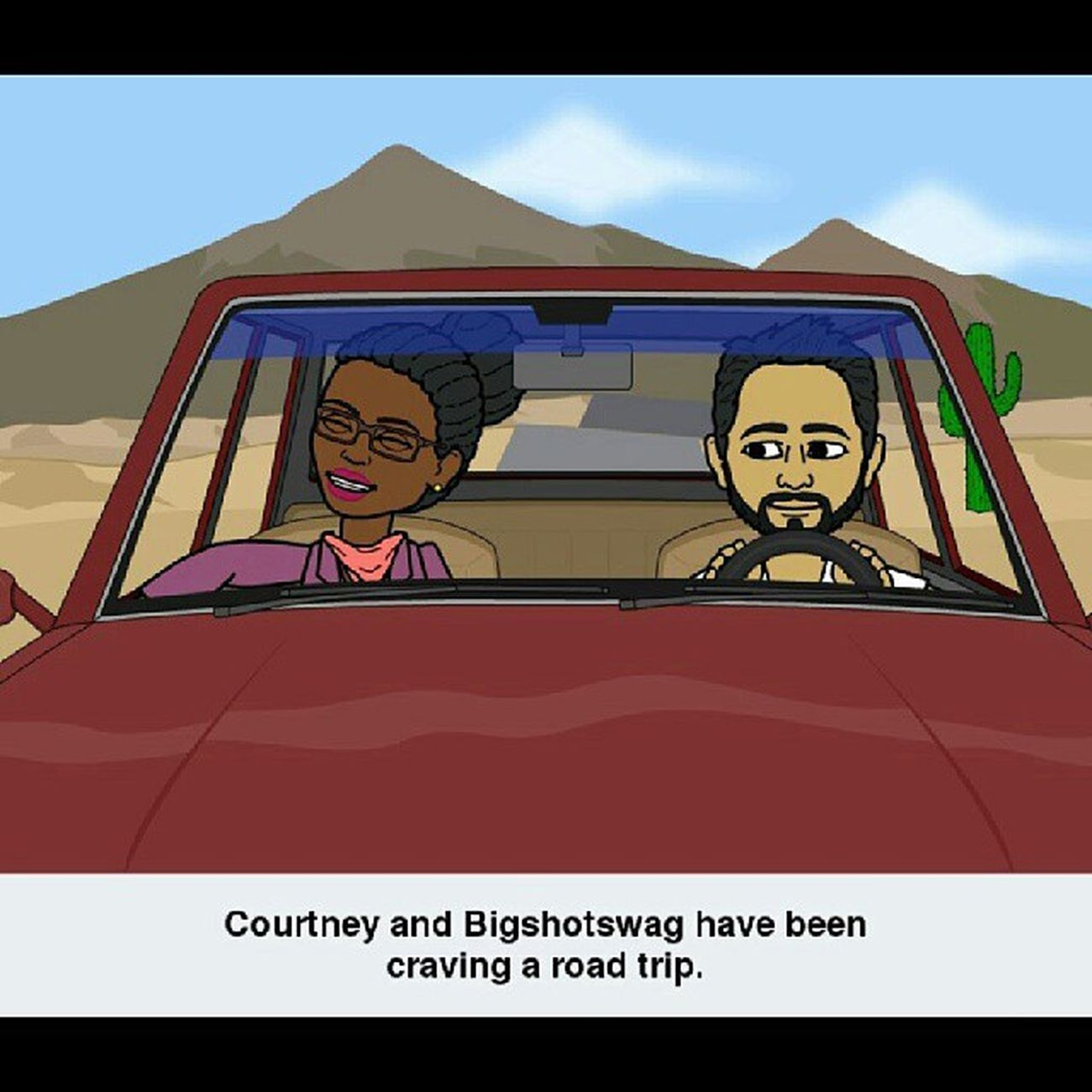 Yeah...we're overdue for one Roadtrip Bitstrip Bitsrips