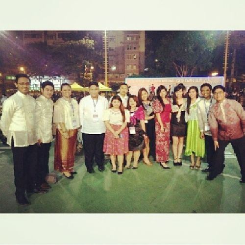 Wearing something special. CulturalNight LongTableDinner IYS PhilippineRepresent ProudlyPinoy