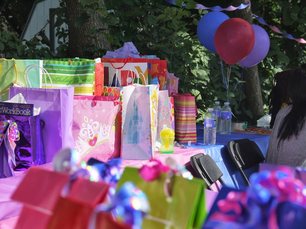 Multi Colored Gift Outdoors Day No People Brown Blackisbeautiful Happiness Fun People Gifts ❤ Birthday Birthdayparty Birthdaypresents Pink Color Little Things