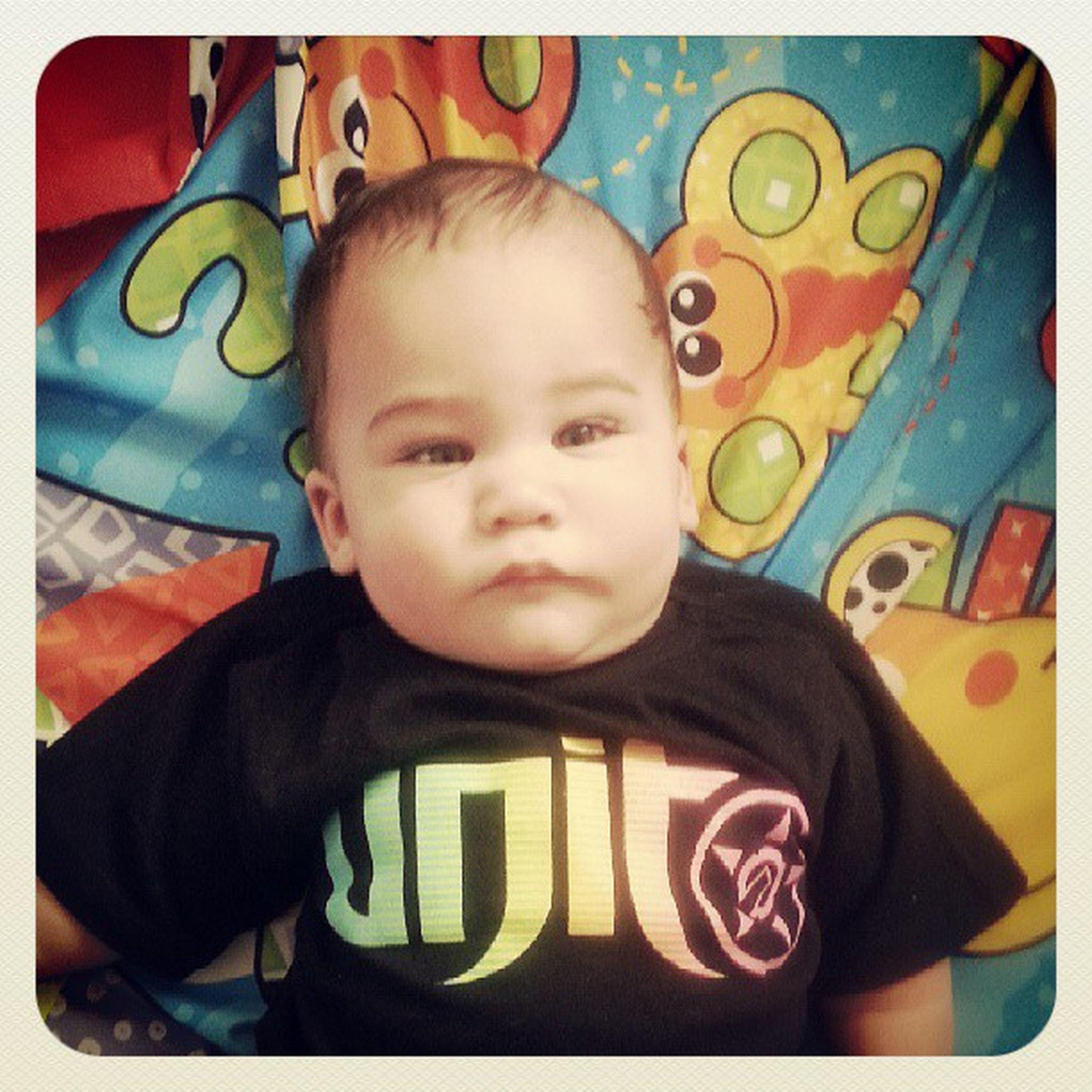 Hangin out wit my lil bro :) ♥ BabyNoah Cutie @cyonah