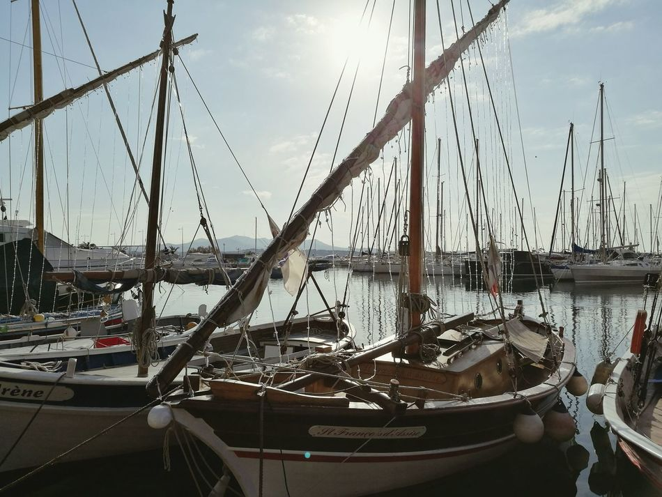 Yacht Sailboat Outdoors Boat Sanary Sur Mer France Sea Beauty EyEmNewHere EyeEmNewHere