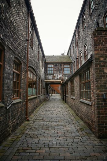 Middleport Pottery Architecture Brick Wall Building Exterior Built Structure Day Middleport Pottery No People Outdoors Sky The Way Forward