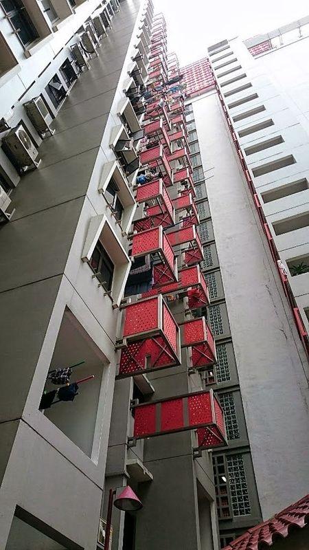 Selegie House housing estates... Snapseed Landmark Singaporestreetphotography 3XSPUnity Building Exterior Smartphonephotography IMography Mobilephotography Architecturephotography Sonyxperiaphotography