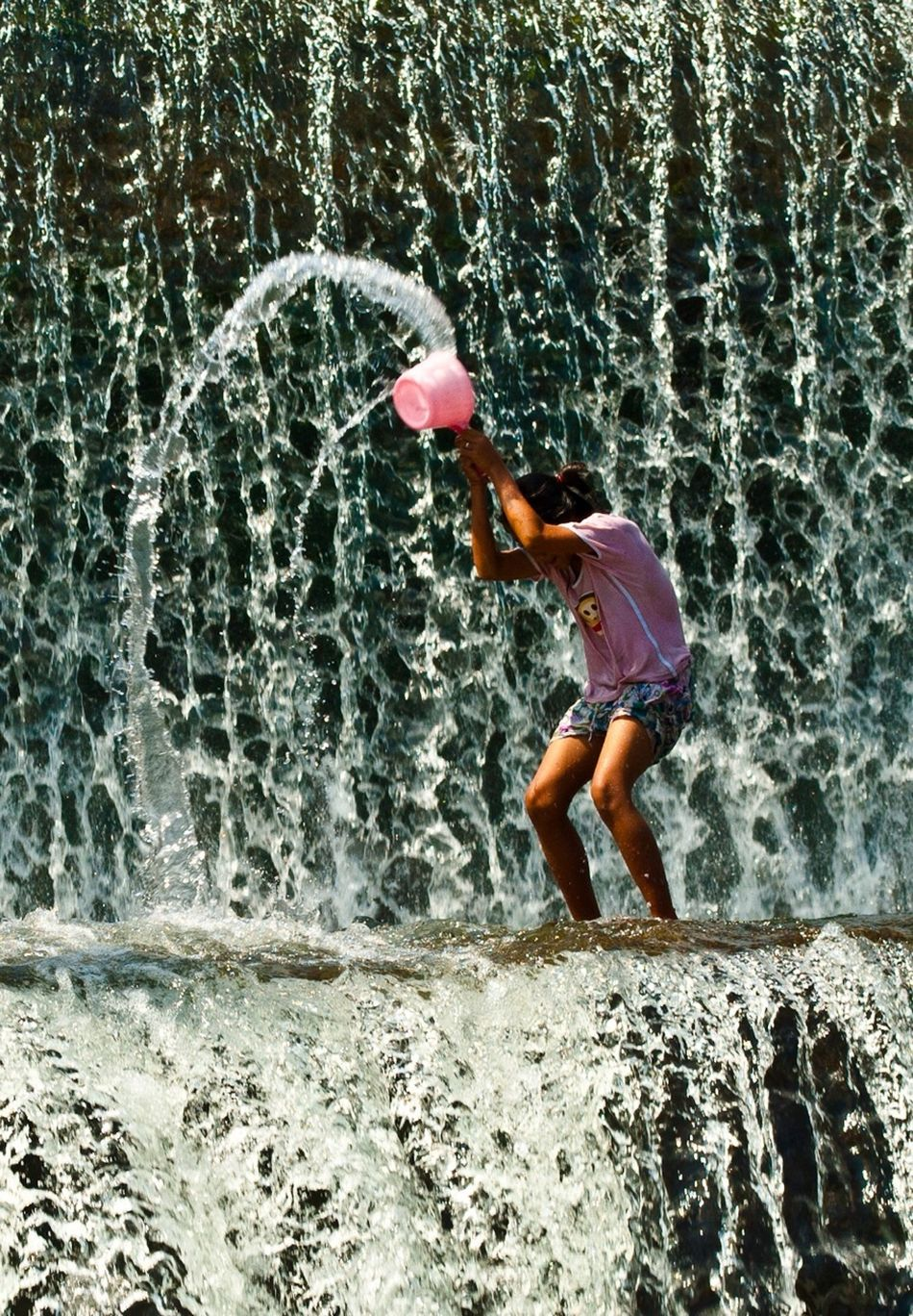 Beautiful stock photos of waterfall, Blurred Motion, Casual Clothing, Day, Flowing