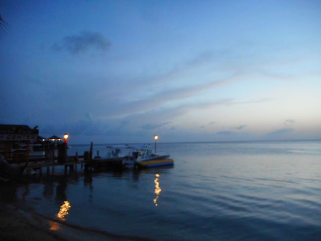 Honduras Roatan Architecture Bay Islands Beach Beauty In Nature Building Exterior Built Structure Dusk Horizon Over Water Illuminated Nature Nautical Vessel Night No People Outdoors Scenics Sea Sky Sunset Tranquil Scene Tranquility Water