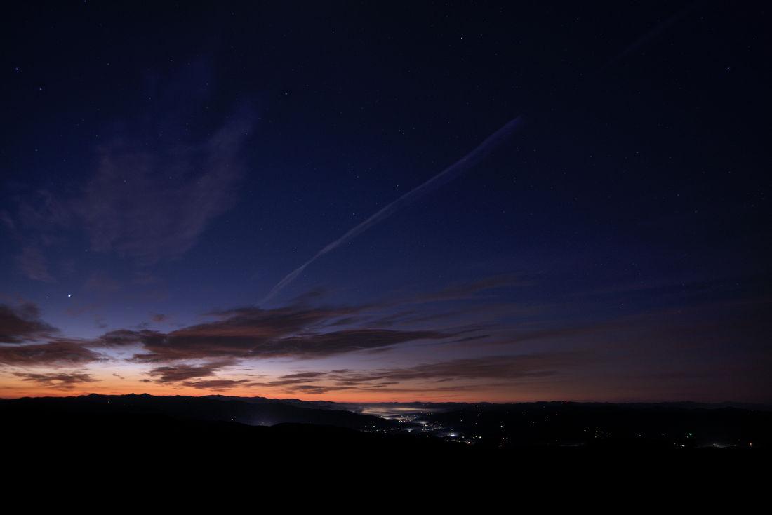 Lights Morning Light Morning Sky Orange Color Skies And Clouds Sky Stars Stary Sky Sunrise