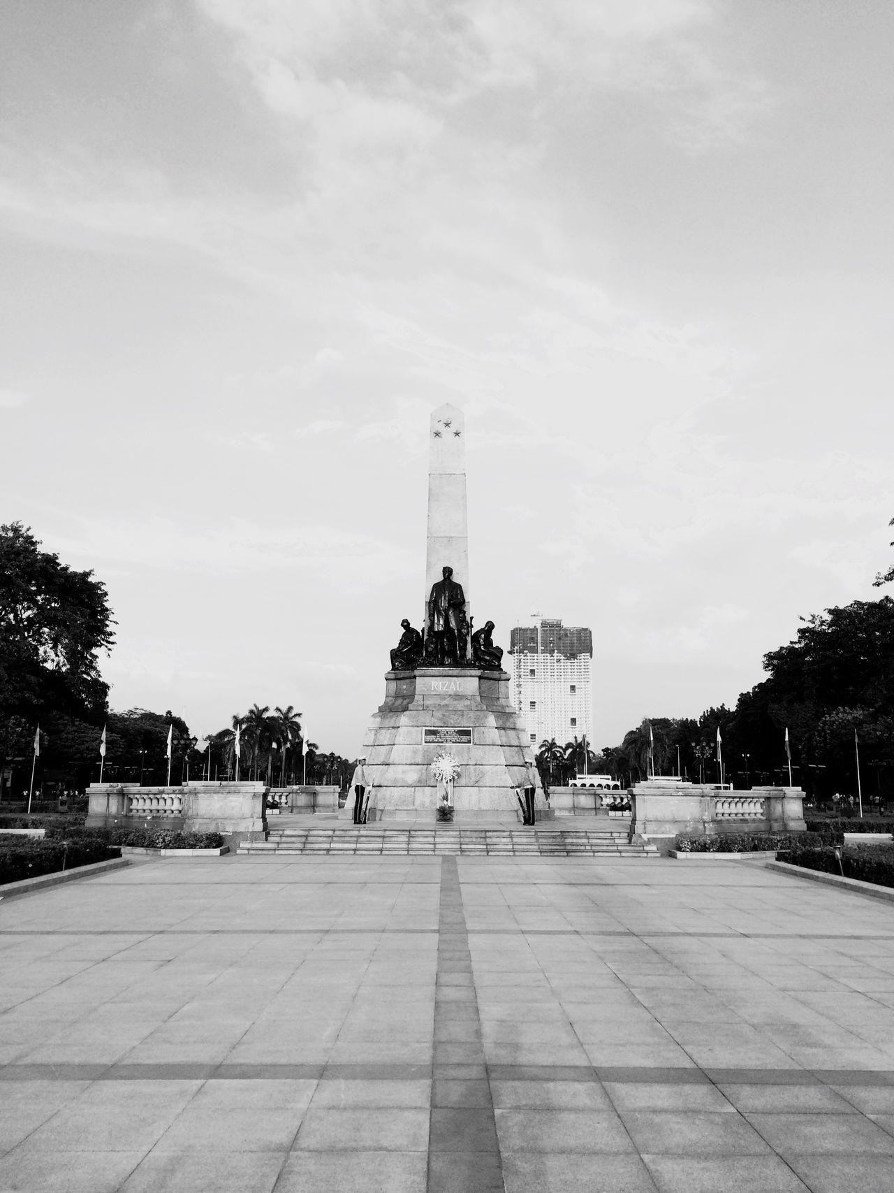 Travel Destinations Blackandwhite Bnw Luneta Park