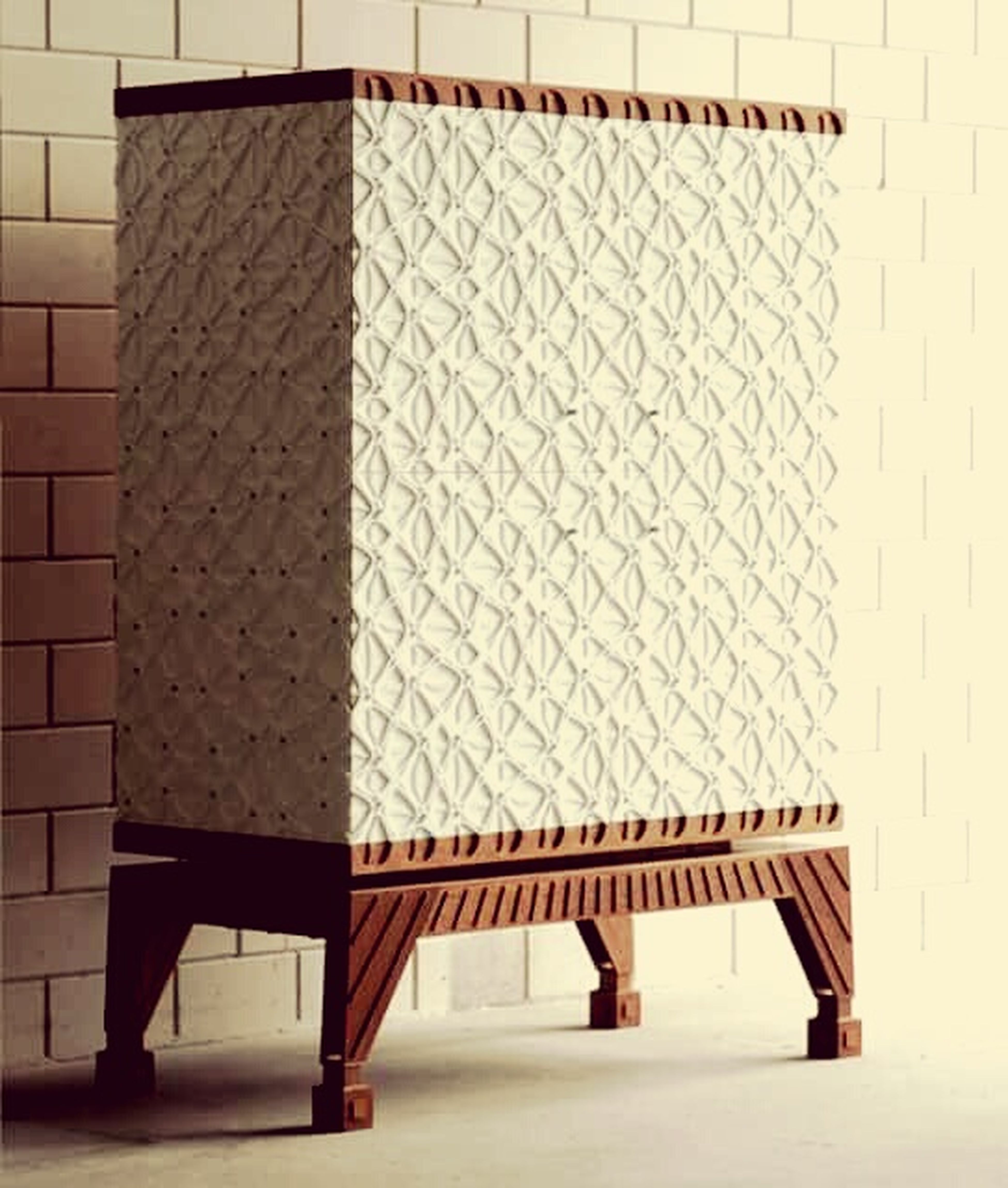 White Cabinet Pater Fasade