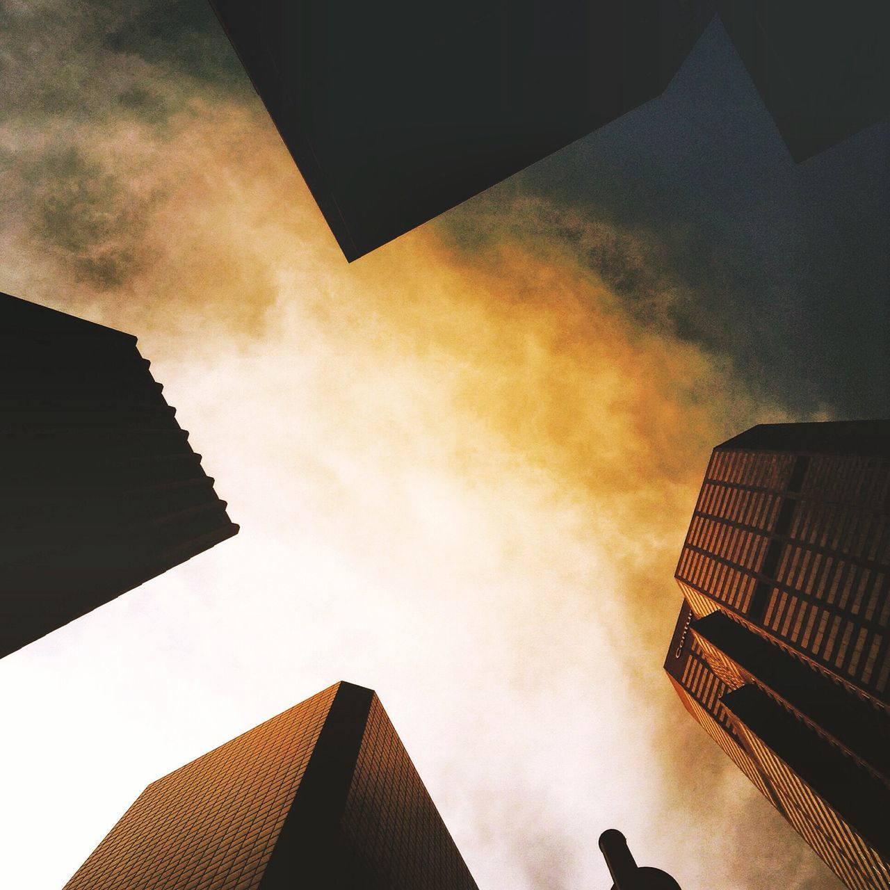 Building Exterior Built Structure Architecture Sky Low Angle View Cloud - Sky No People Outdoors City Day Nature Colorado Denver Lookingup Look Up And Thrive