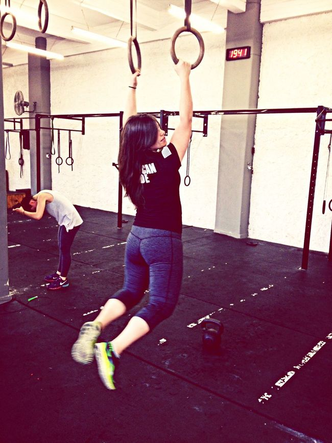 Crossfit time.. Crossfit Muschleup Ringrows Roquefitness