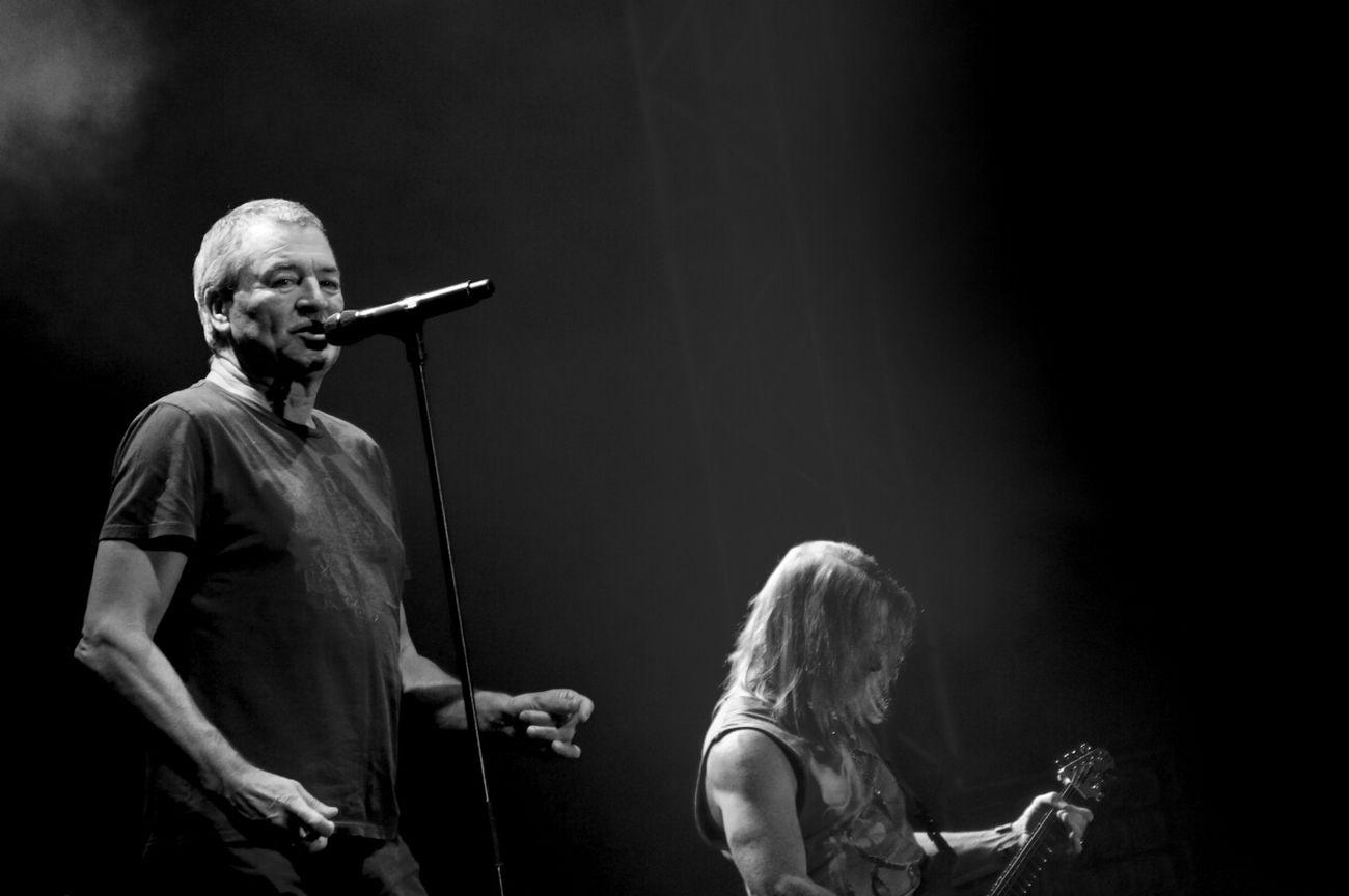 Deep Purple Live Festival Black And White