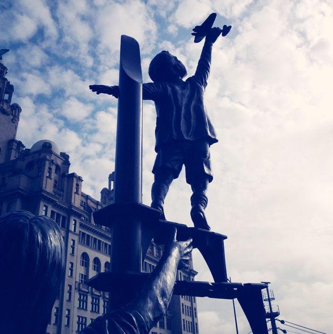 War Memorial Blitz History Sculpture