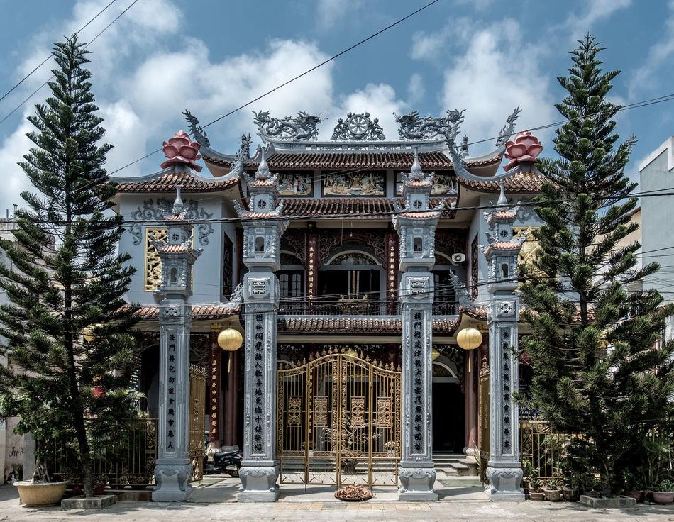 Temple gate, Hoi An, Vietnam Architecture FUJIFILM X-T2 Vietnam Hoi An Temple