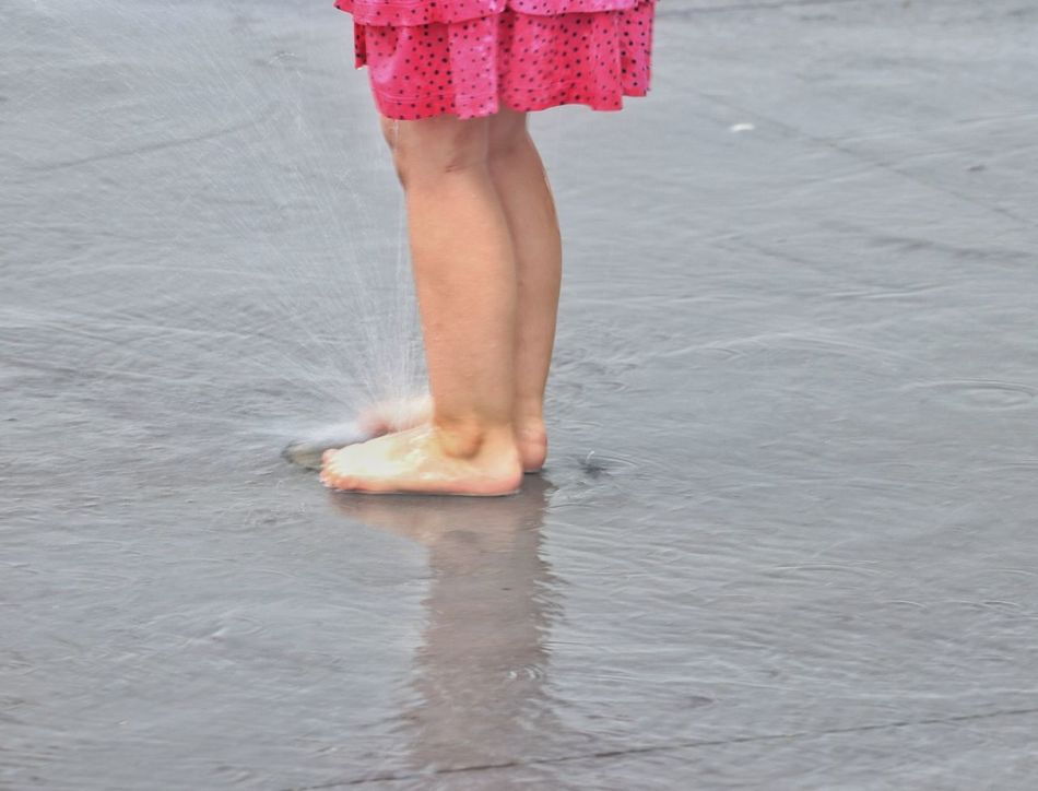 Low Section Human Leg Human Body Part One Person Barefoot One Girl Only Children Only Water Girls People Day Summer Child Pink Color Outdoors Water Child's Feet Cute Feet Limb Body Part Leg Beach Nature The Street Photographer - 2017 EyeEm Awards The Photojournalist - 2017 EyeEm Awards